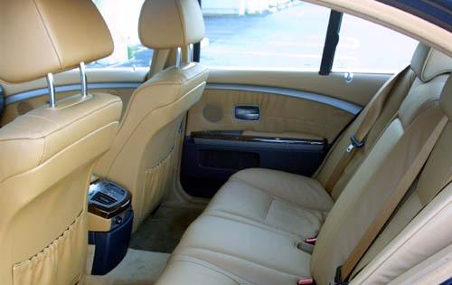 2002 BMW 7 Series 745i En Interior 14