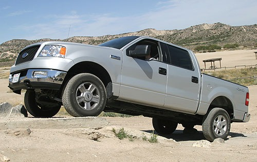 2007 Ford F-150 XL Extend exterior #4