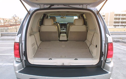 2004 Lincoln Aviator Rear interior #8