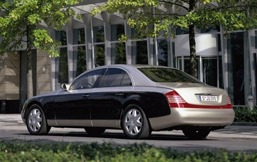 2004 Maybach 57 Center Co interior #8