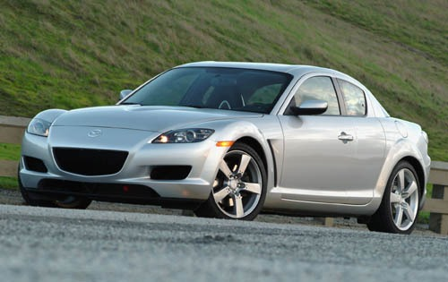 2004 Mazda RX-8 4dr Coupe exterior #3