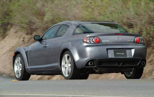 2004 Mazda RX-8 4dr Coupe exterior #4