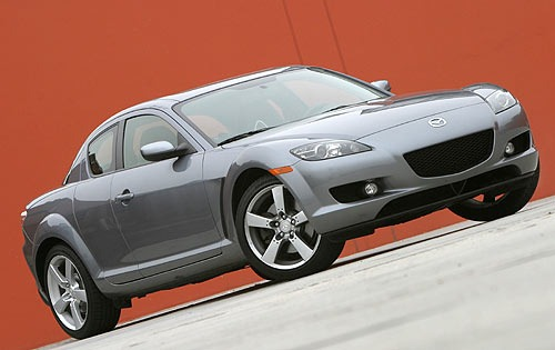 2004 Mazda RX-8 4dr Coupe exterior #1