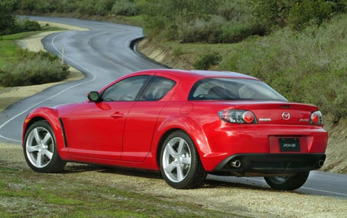 2004 Mazda RX-8 4dr Coupe exterior #5