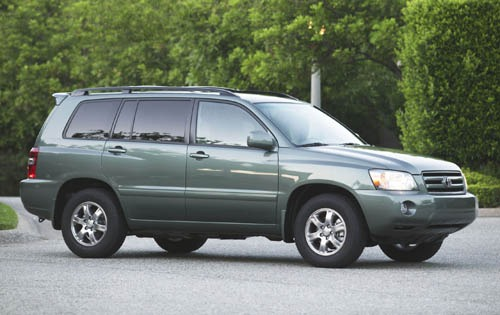 2004 Toyota Highlander In interior #1