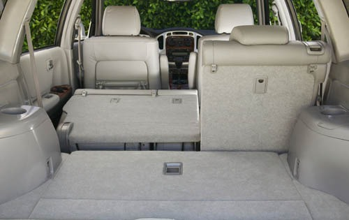 2004 Toyota Highlander In interior #5