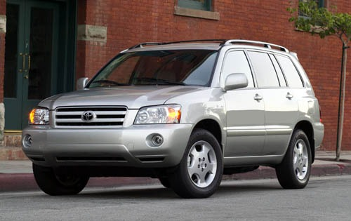 2004 Toyota Highlander In interior #2