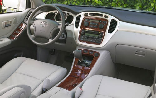 2004 Toyota Highlander In interior #7