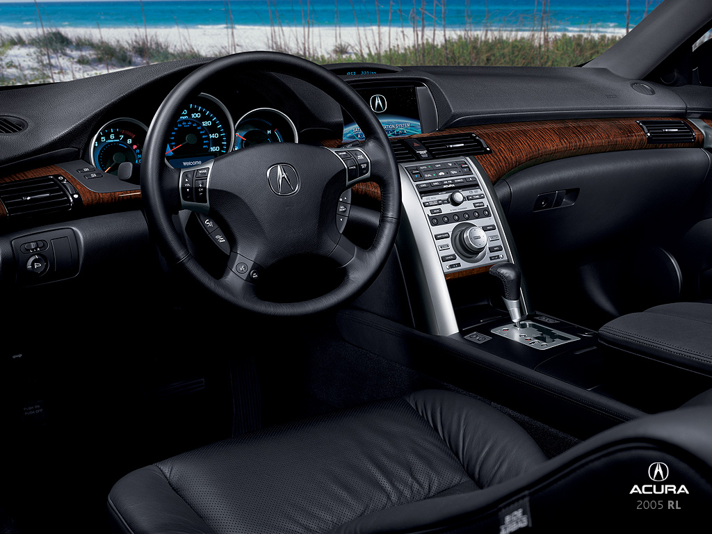 2005 Acura Rl Information And Photos Zombiedrive