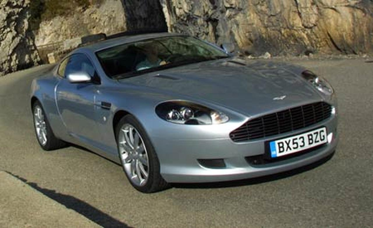 2005 aston martin db9 - information and photos - zombiedrive