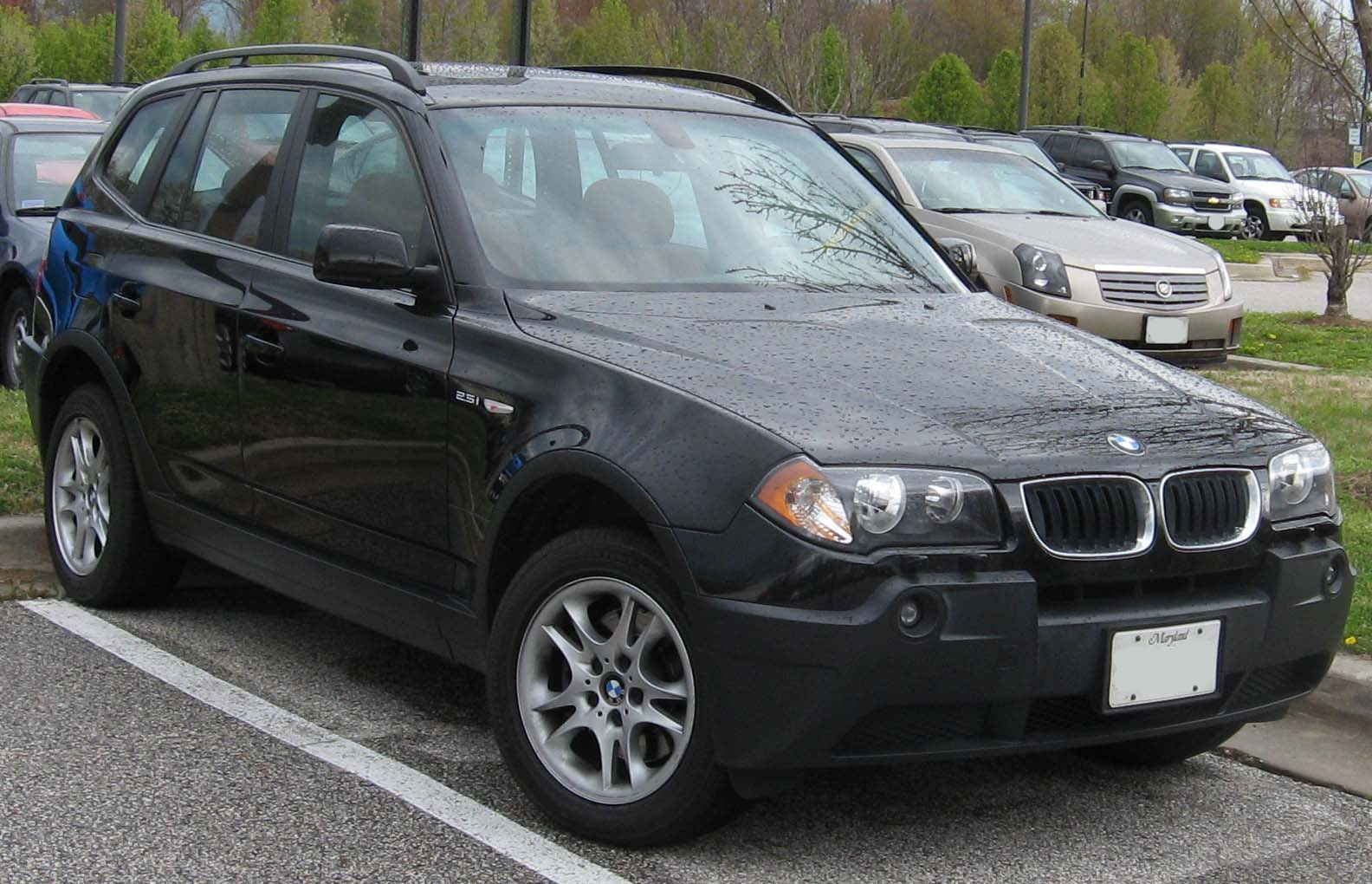 2005 bmw x3 information and photos zombiedrive. Black Bedroom Furniture Sets. Home Design Ideas