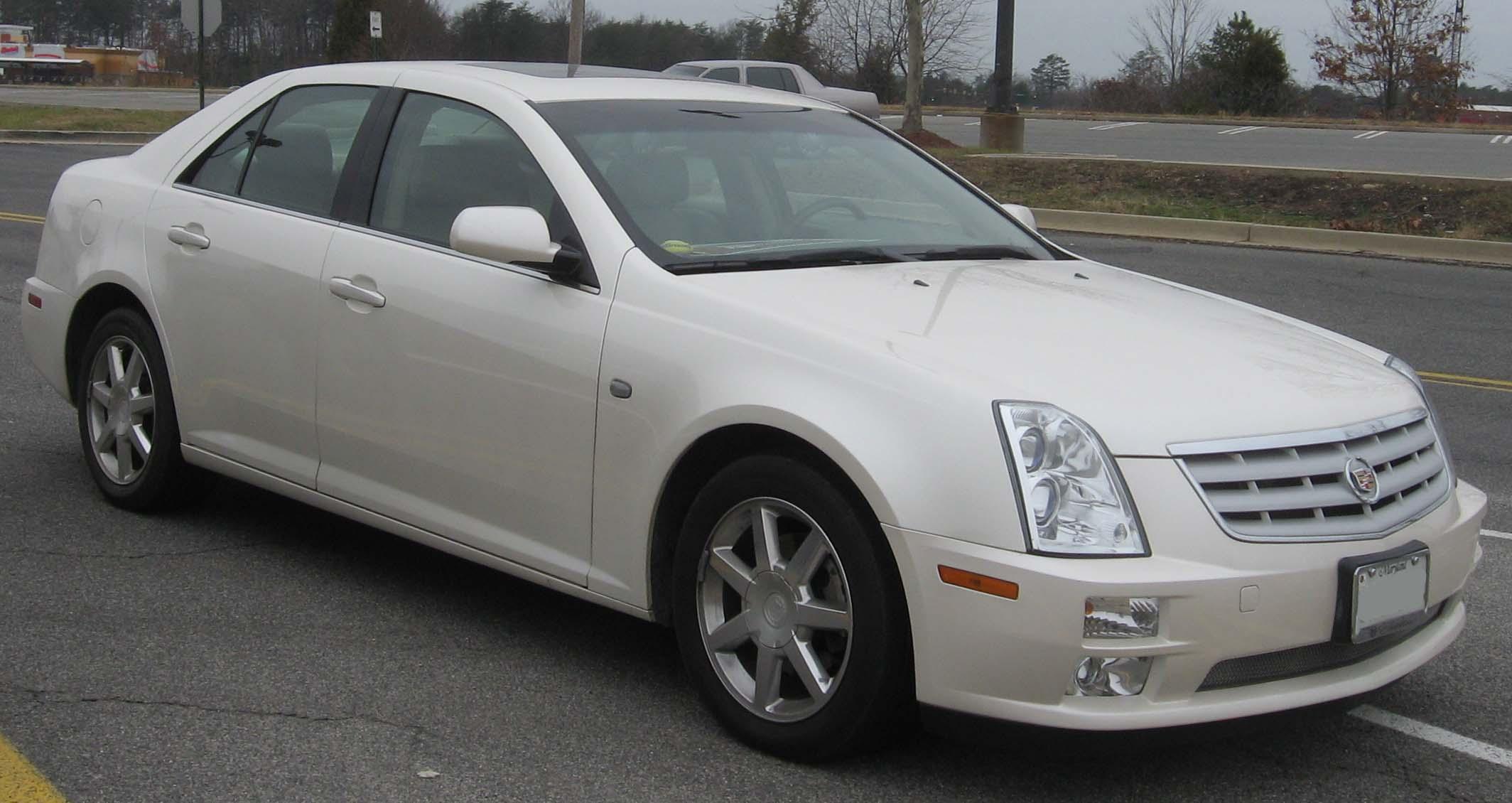 2005 Cadillac Sts 6