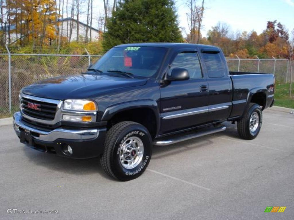 2005 gmc sierra 2500hd information and photos zombiedrive. Black Bedroom Furniture Sets. Home Design Ideas
