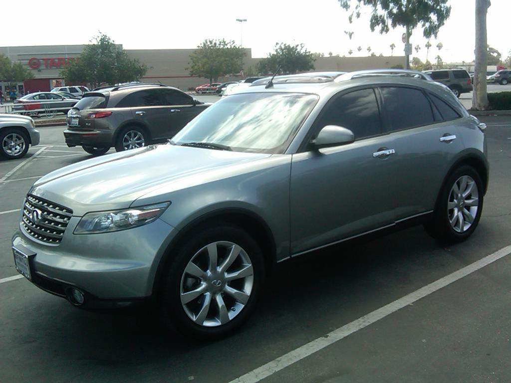 2005 Infiniti FX35 - Information and photos - ZombieDrive