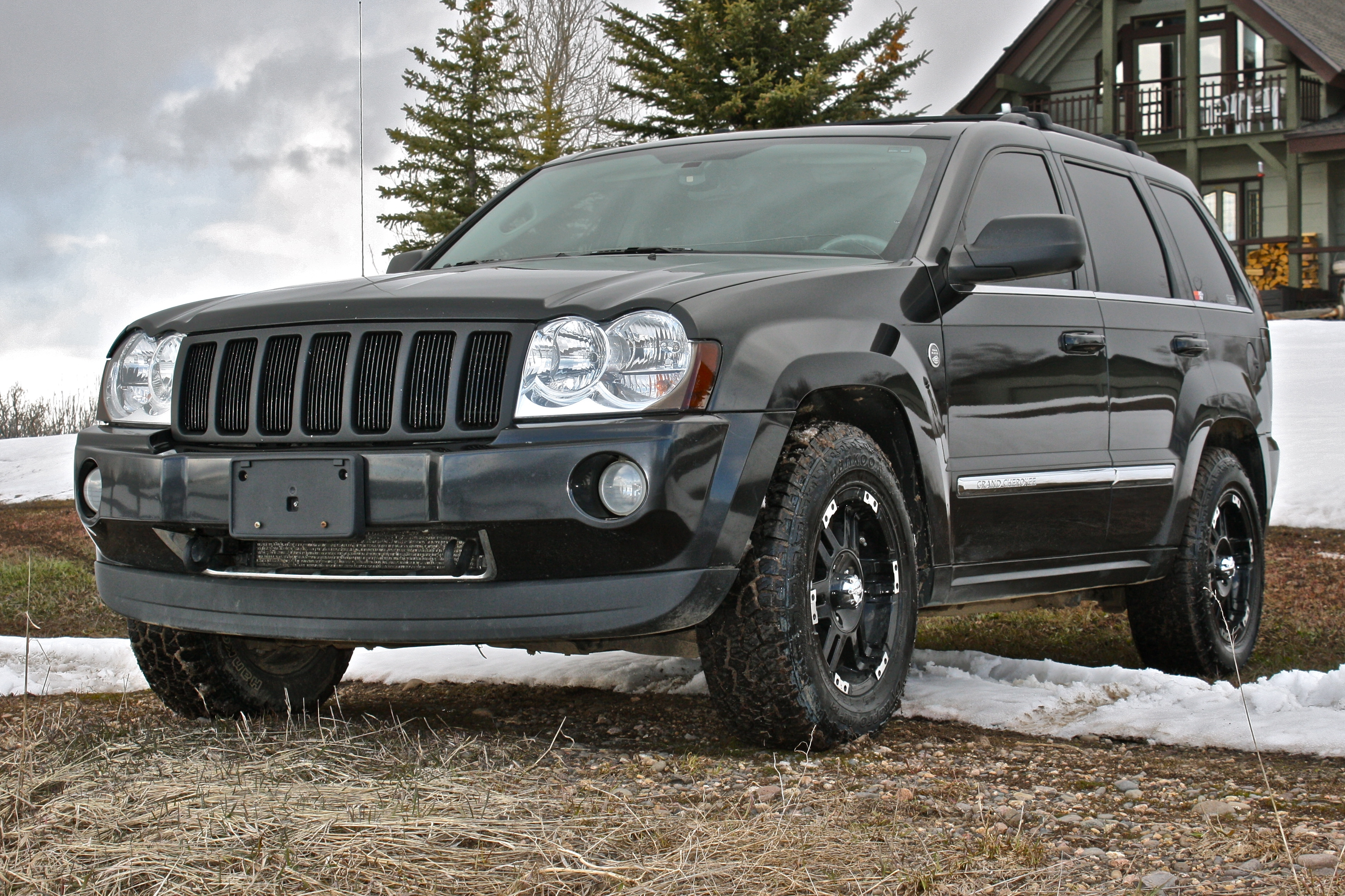 Watch further 1507 2006 Dodge Ram Mega Cab The Reaper as well 0705 8l 2005 Hummer H2 Sut together with 2014 Jeep Patriot Lift Kit besides 1502 1975 Chevy C K10 Homegrown. on 2005 jeep grand cherokee lifted