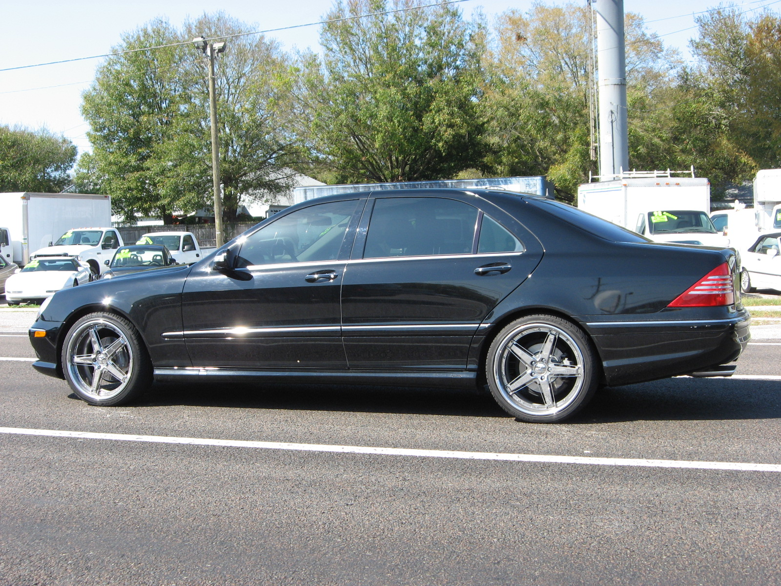 2005 mercedes benz s class image 9 for Mercedes benz suv 2005