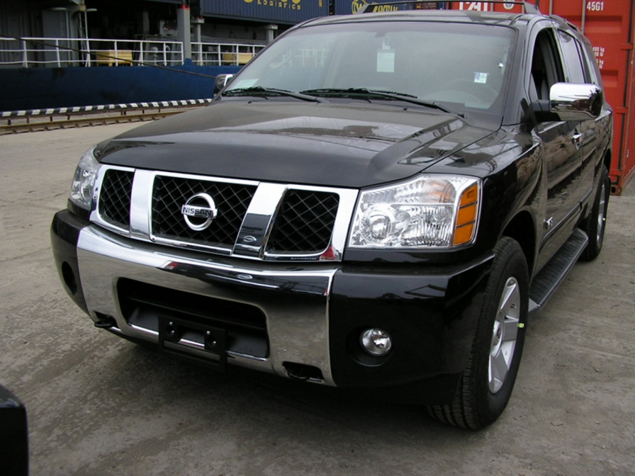 2005 nissan armada image 16. Black Bedroom Furniture Sets. Home Design Ideas