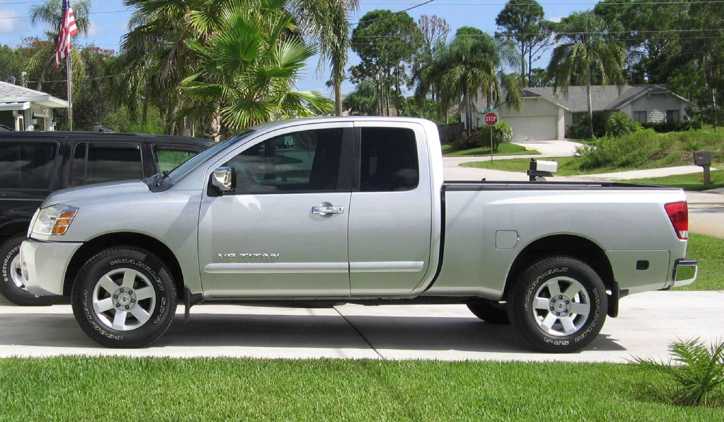 2005 nissan titan information and photos zombiedrive. Black Bedroom Furniture Sets. Home Design Ideas