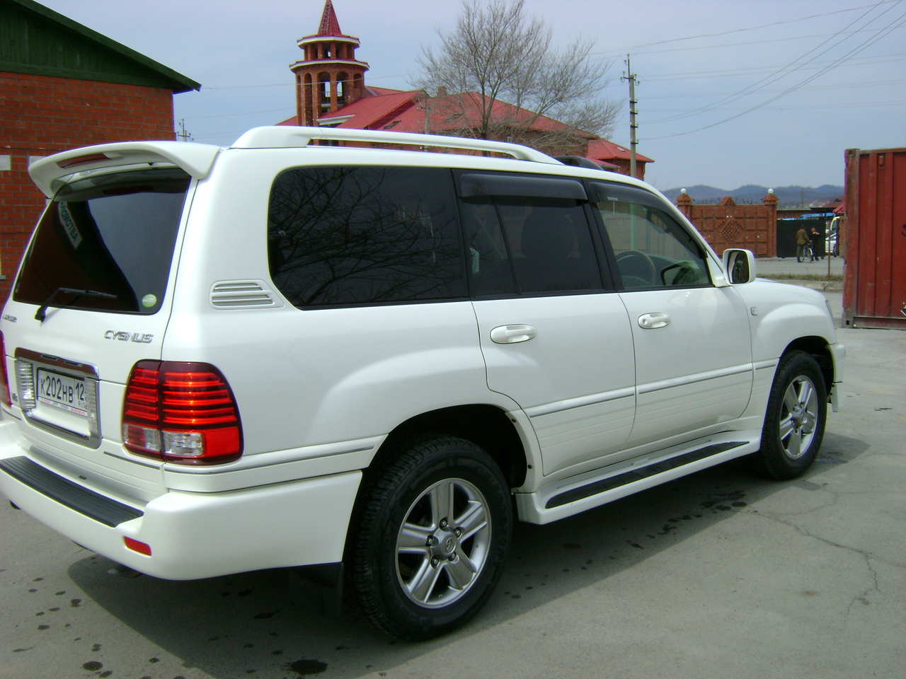Toyota Land Cruiser 2005 Interior 2005 Toyota Land Cruiser
