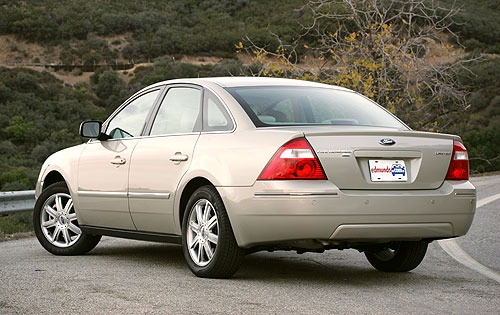 2005 ford five hundred - information and photos - zombiedrive