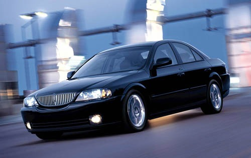 2005 Lincoln LS Luxury In interior #2