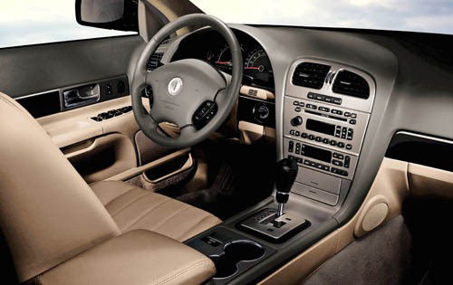 2005 Lincoln LS Luxury In interior #6