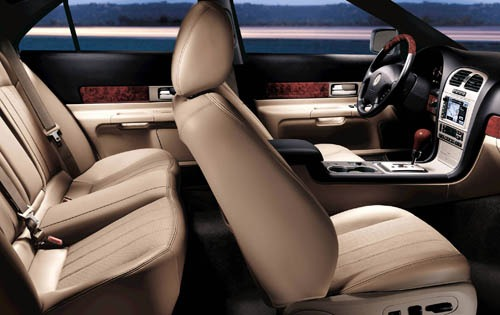 2005 Lincoln LS Luxury In interior #4