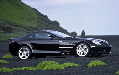 2005 Mercedes-Benz SLR Mc exterior #2