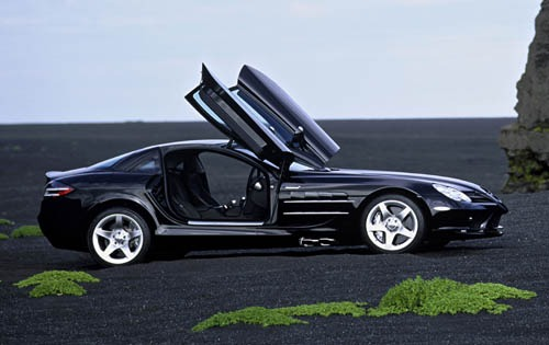 2005 Mercedes-Benz SLR Mc exterior #3