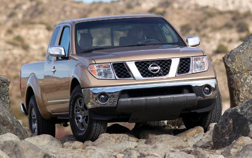 2005 Nissan Frontier 4dr  exterior #7