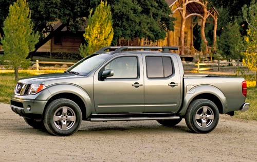2005 Nissan Frontier 4dr  exterior #3