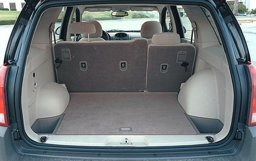 2002 Saturn VUE Cargo Are interior #6