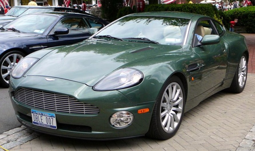 Aston Martin V Vanquish Information And Photos ZombieDrive - 2006 aston martin vanquish