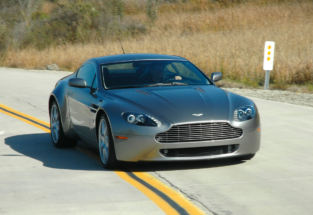 Aston Martin V Vantage Information And Photos ZombieDrive - 06 aston martin vantage