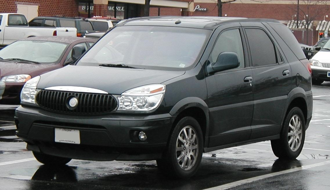Buick Rendezvous Information And Photos ZombieDrive - Buick encore wiki