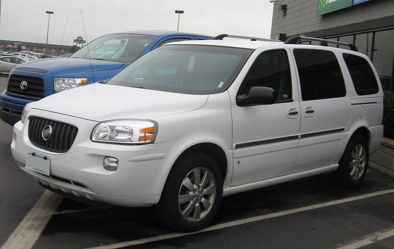 2006 Buick Terraza Information And Photos Zombiedrive