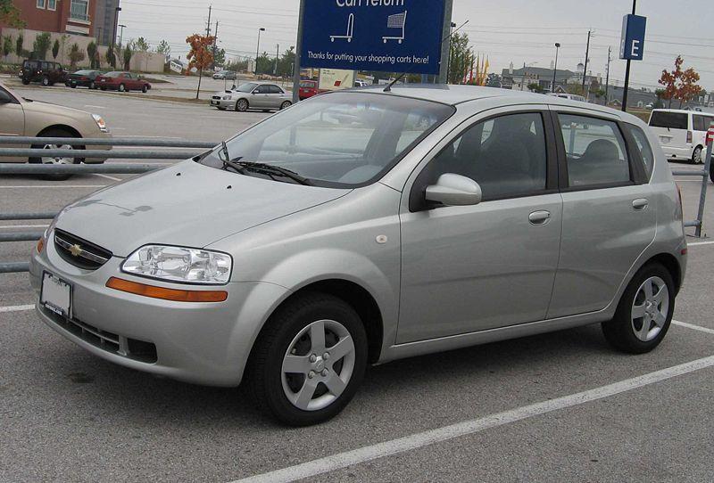 2006 Chevrolet Aveo 16