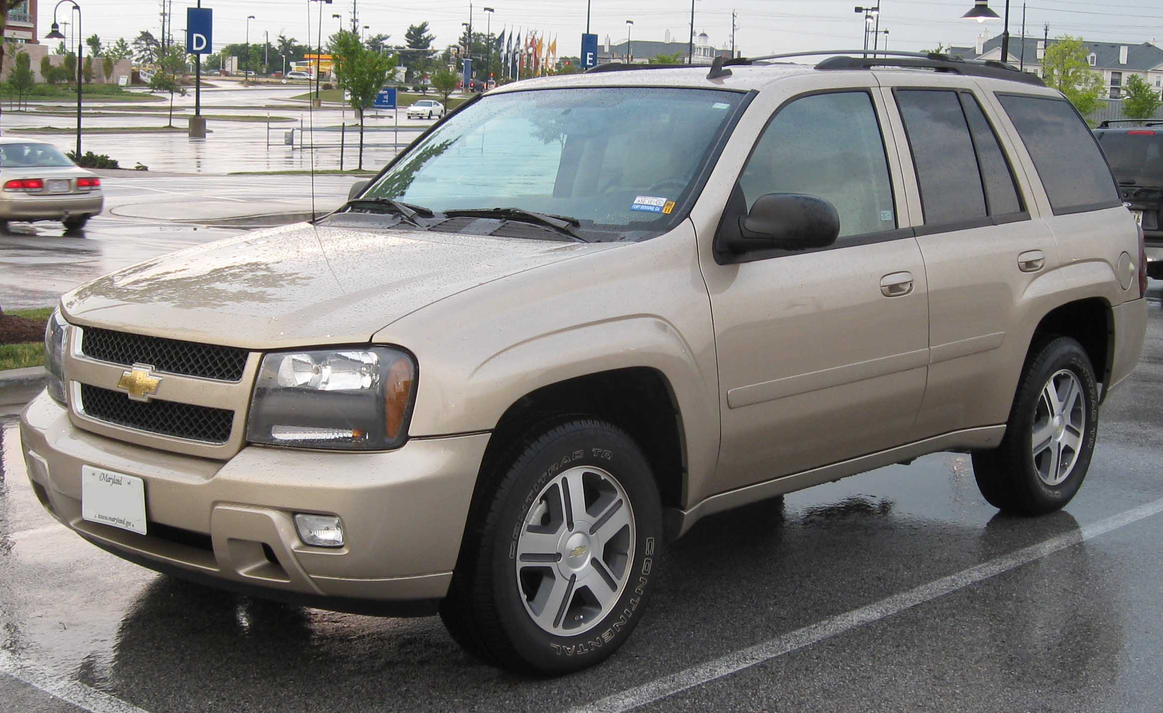 2006 Chevrolet TrailBlazer  Information and photos  ZombieDrive