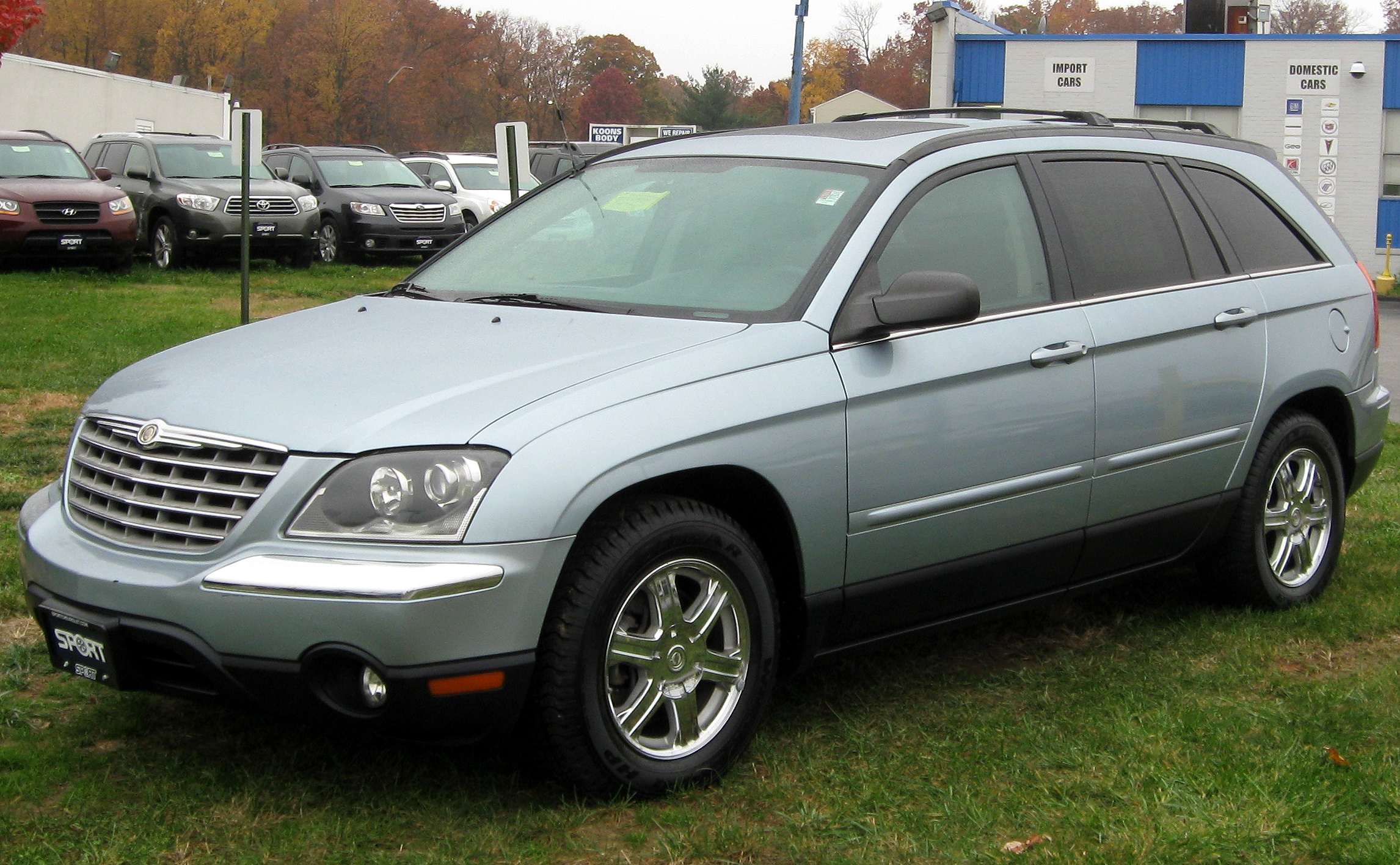 2006 Chrysler Pacifica Image 17