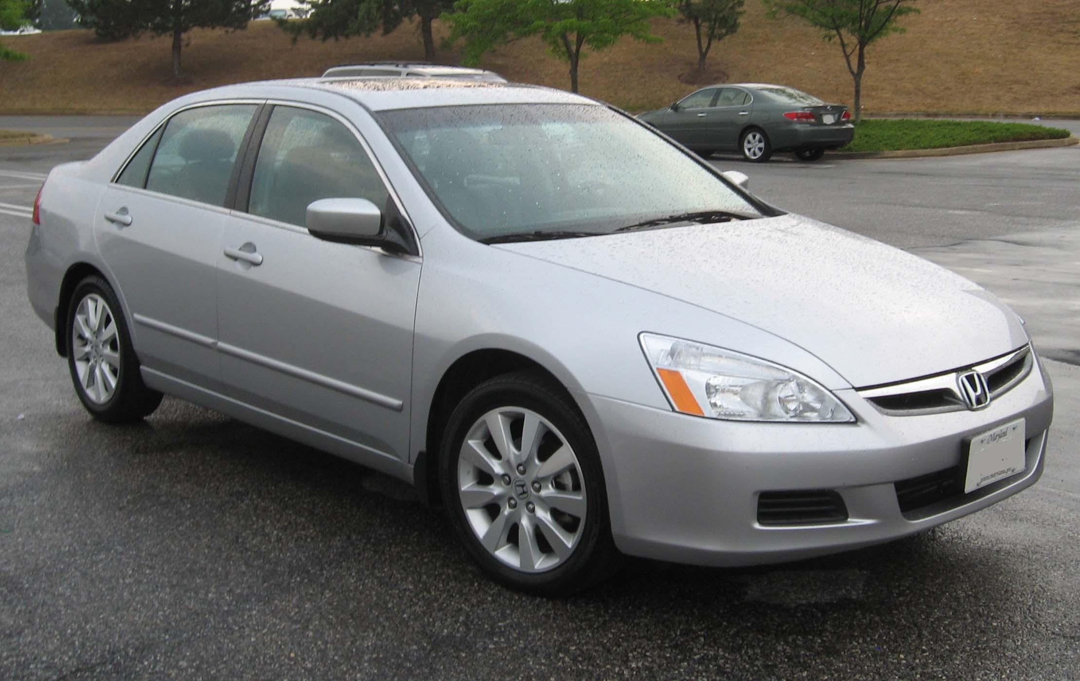 2006 Honda Accord Information And Photos Zombiedrive