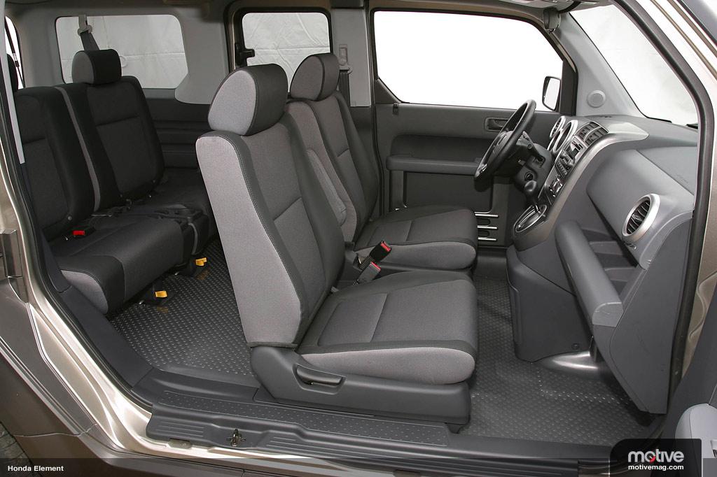 2006 honda element interior