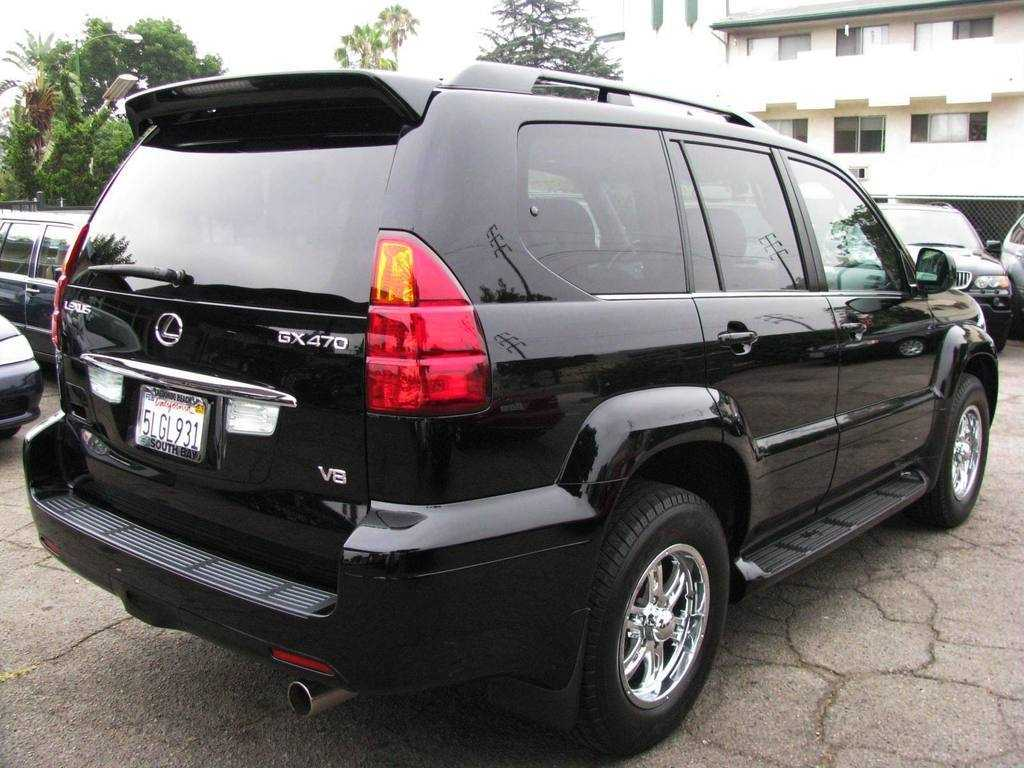 2006 lexus gx 470 information and photos zombiedrive. Black Bedroom Furniture Sets. Home Design Ideas