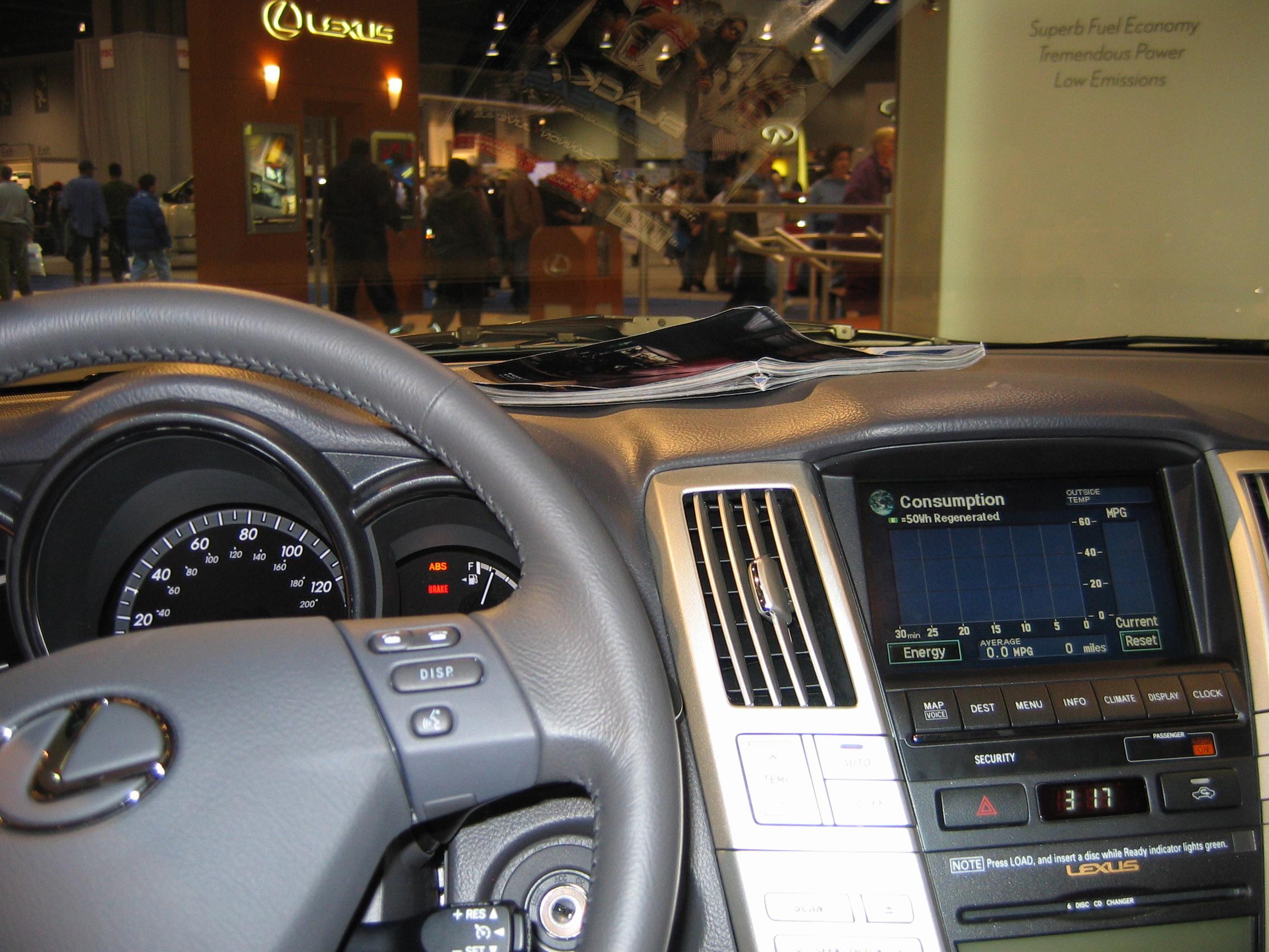 2006 lexus rx 400h 14 lexus rx 400h 14