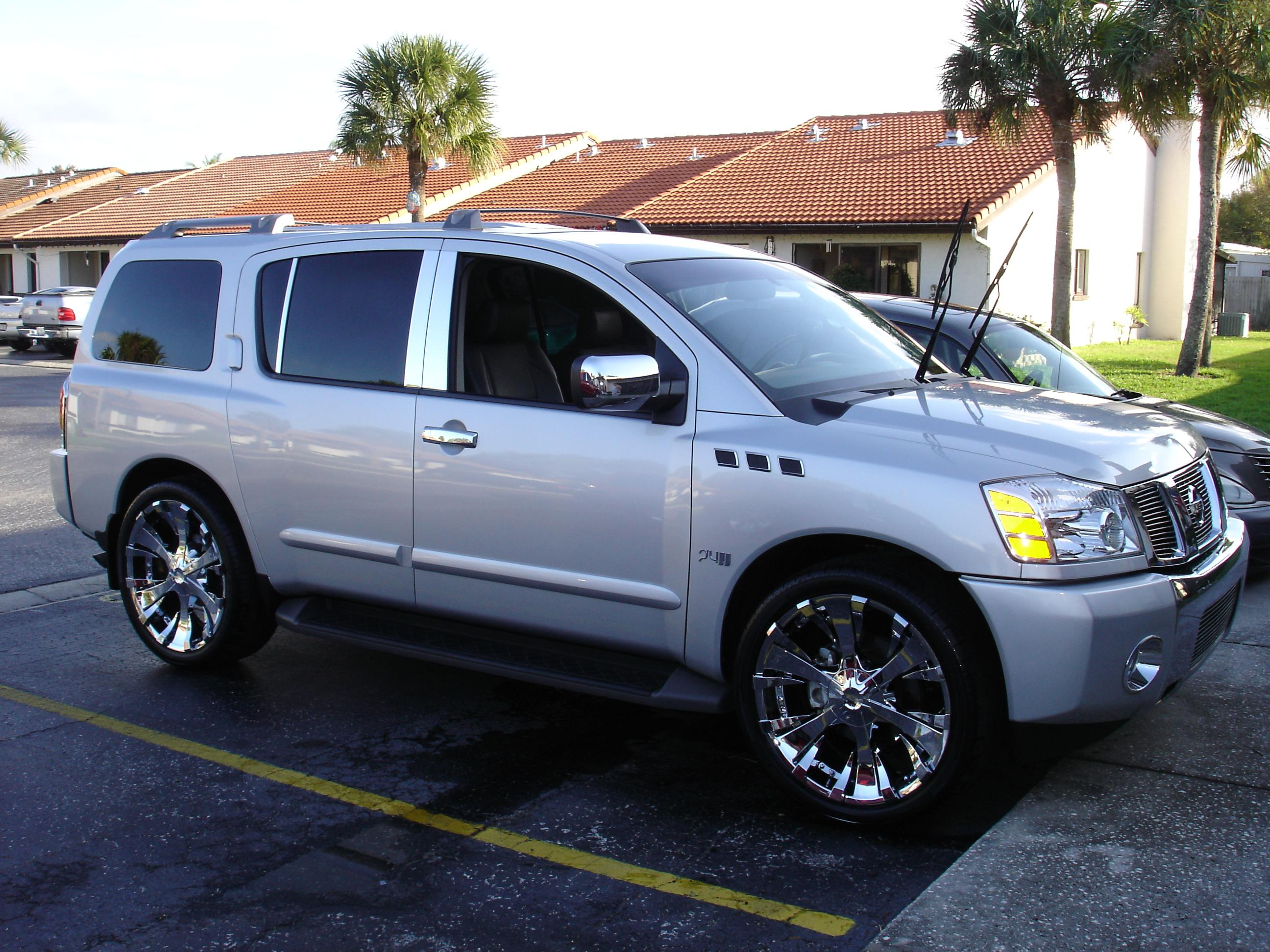 2006 nissan armada information and photos zombiedrive 2006 nissan armada 15 nissan armada 15 vanachro Images