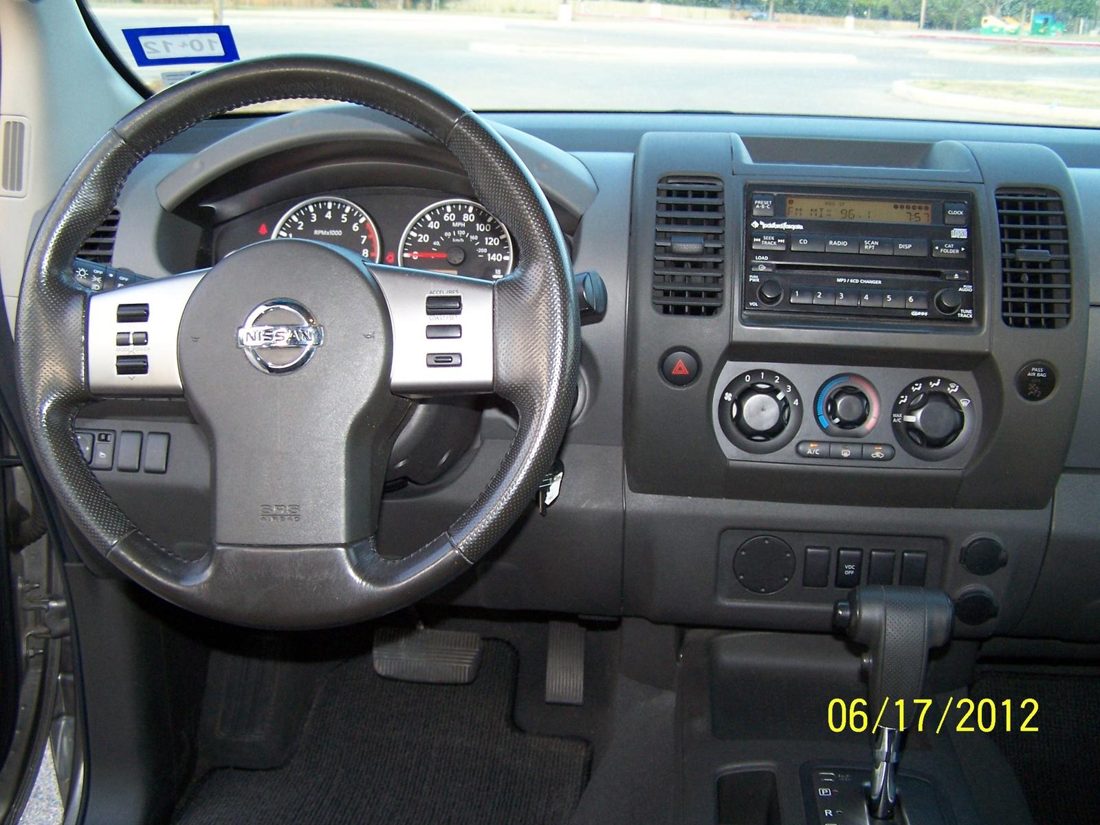 Nissan Xterra 2006 Interior