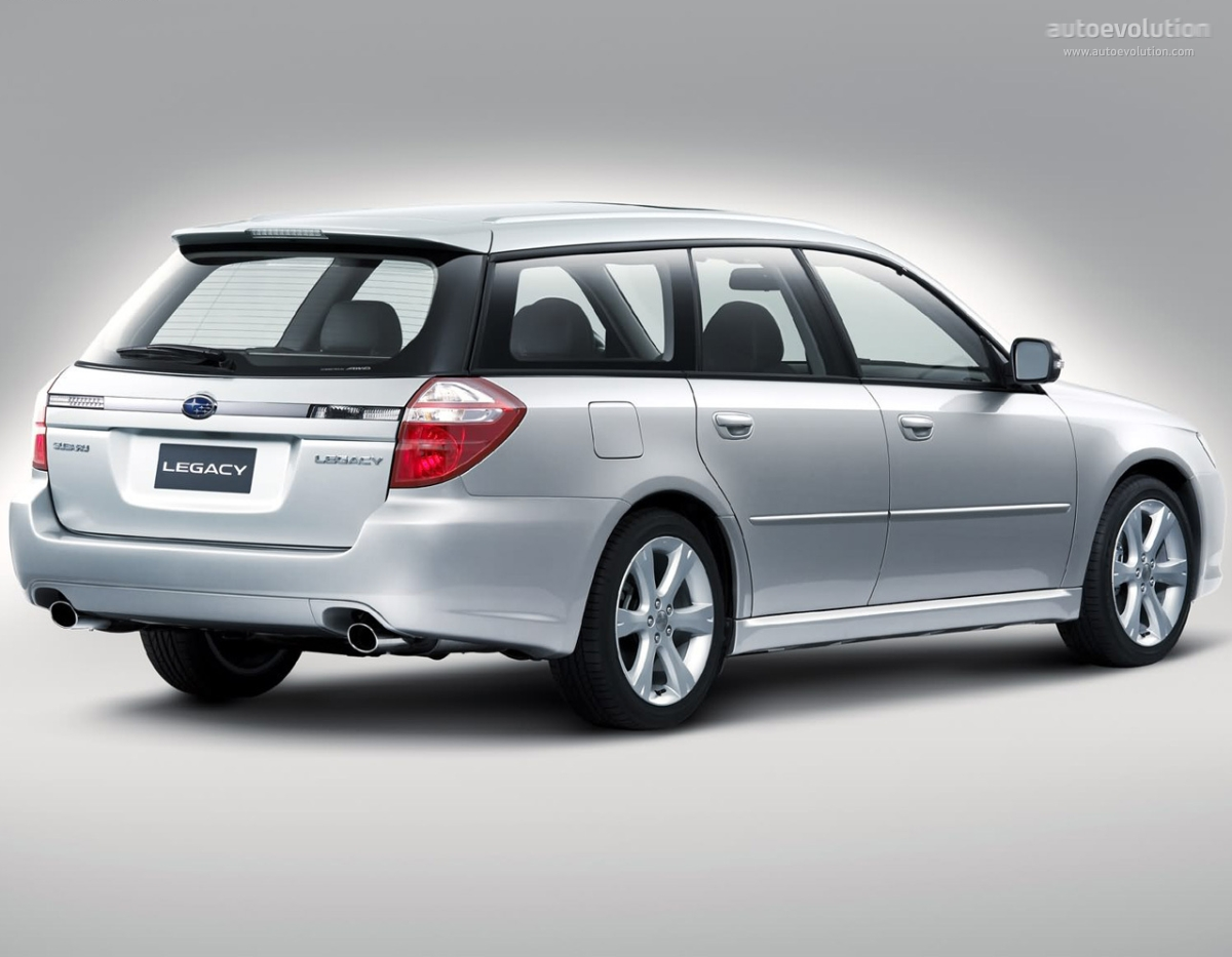 2006 Subaru Legacy - Information and photos - ZombieDrive