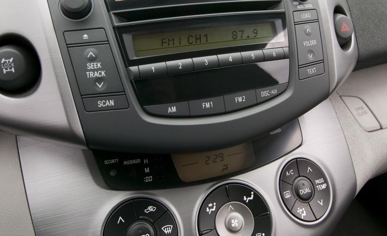 Toyota Rav Interior >> 2006 TOYOTA RAV4 - Image #10
