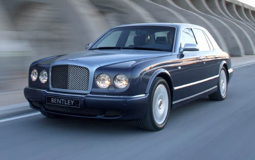 2006 Bentley Arnage R Cen interior #2