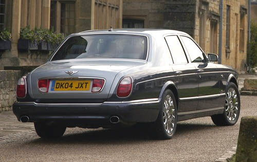 2006 Bentley Arnage R Cen interior #9
