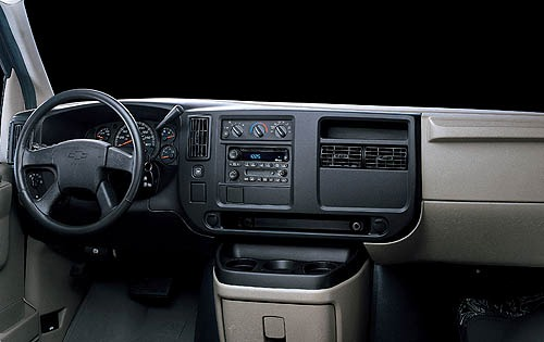 2006 Chevrolet Express Ca interior #7